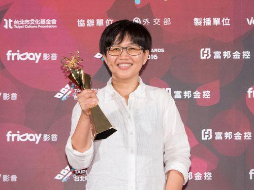 「河北台北」のリ・ニェンシウ監督(台北映画祭提供)
