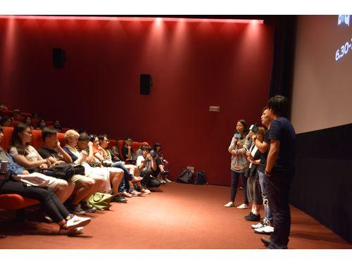 台北映画祭世界プレミア上映の様子