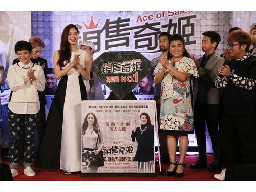 9月1日に台北市内で行われたプレミアイベントの一コマ(華聯国際提供)