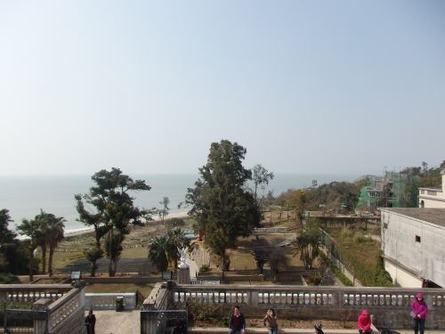 陳景蘭洋楼の2階から見た風景