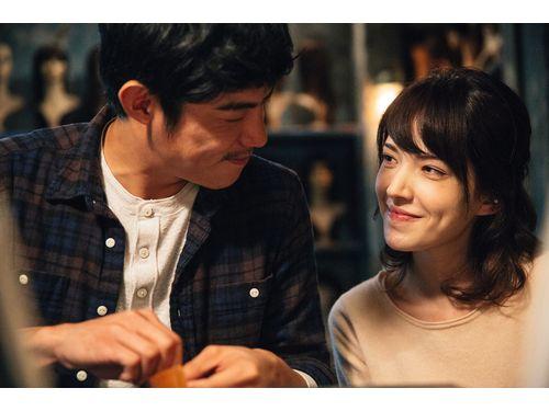 ワン・ボージエ(王柏傑、左)、ティファニー・シューが主演した「失控謊言」(前景娯楽提供)