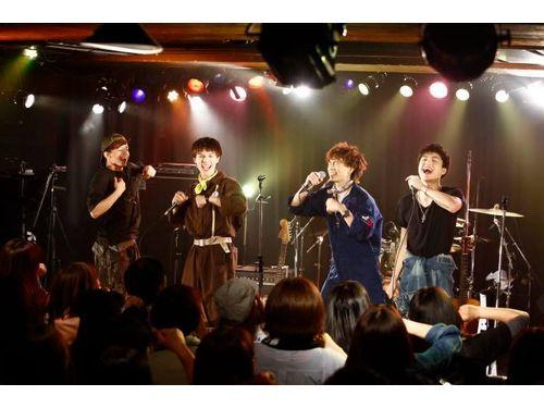 4月23日、渋谷TSUTAYA O-nestでワンマンライブを開催(noovy公式FBより)