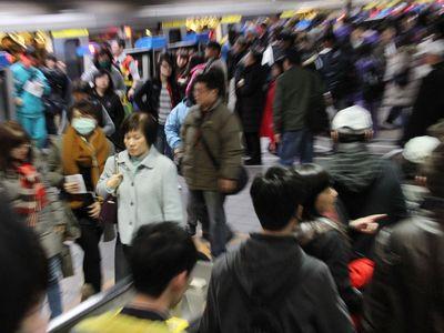 台北メトロ  利用者が50億人超える