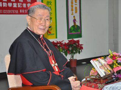 台湾カトリック教会の枢機卿、自...