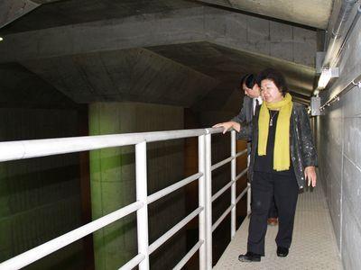 陳高雄市長:日本の首都圏外郭放水路を治水の参考に