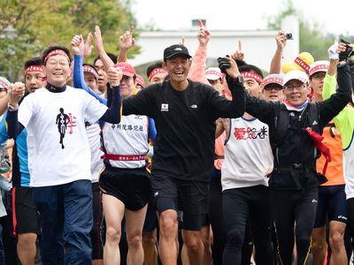 超人マラソンの関家さん 「感謝」の台湾一周完走