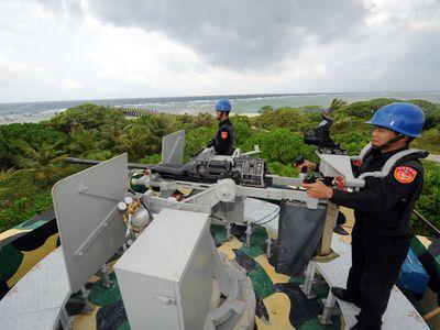 越武装船の太平島接近  海巡署「監視体制を強化」