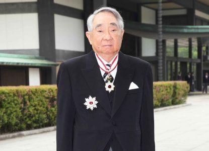 春の叙勲、伝達式  台湾エバーグループ会長に旭日章