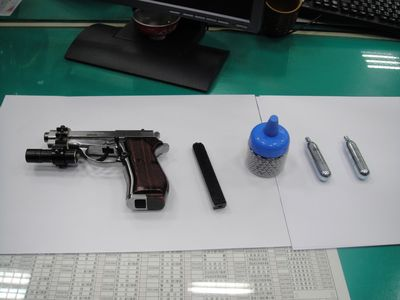 台湾の銃保有率、100人に5丁? 警察「ありえない」