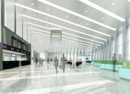 台湾新幹線・雲林駅建設  1月15日起工式