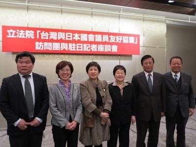 日本の国会議員、震災記念式典への台湾出席を