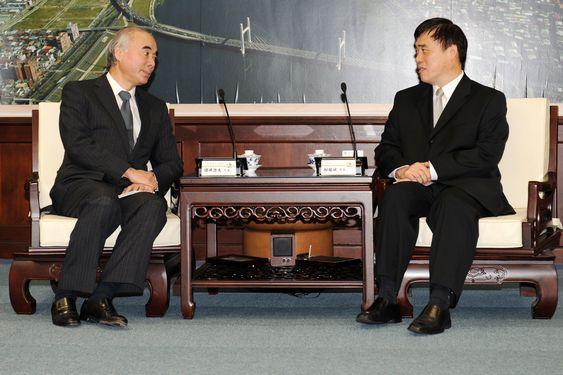 カク台北市長、第4原発問題について日豪の代表と意見交換