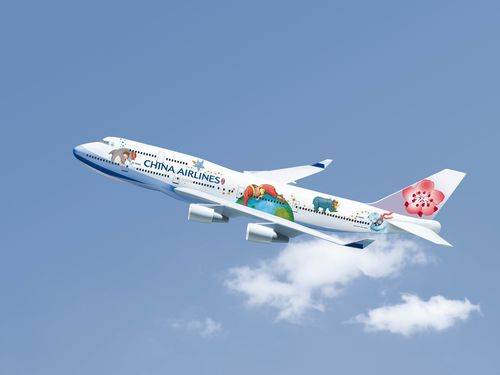 ジミーの絵本、空を飛ぶ  台湾人気作家のペイント機登場、日本就航も