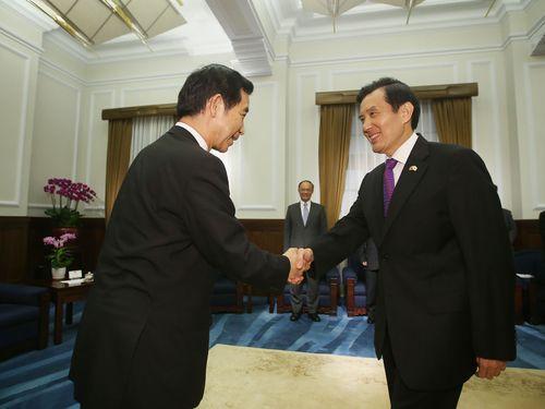 台湾・馬総統、日本とのFTA締結に意欲