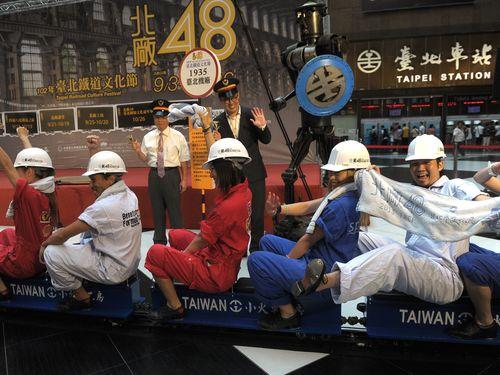 鉄道や都市の歴史を間近に  台北機廠でイベント/台湾