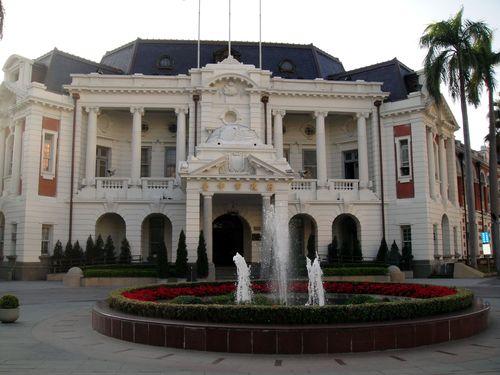 日本時代に建設の旧台中州庁舎などで、光のイベント開催へ/台湾