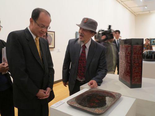 「台湾・日本漆芸交流展」で文化交流、日本側も高く評価