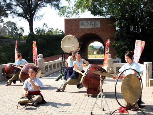 台南で太鼓のイベント、日本の実力派団体も腕前披露/台湾