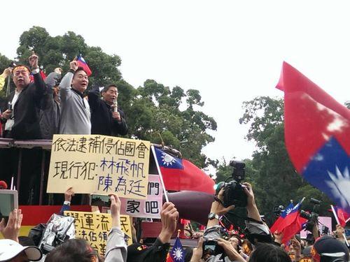 「サービス貿易取り決め」支持派が学生の国会占拠中止などを要求/台湾