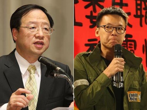 中国大陸との取り決め監視草案決定  議場占拠の学生「名ばかりだ」