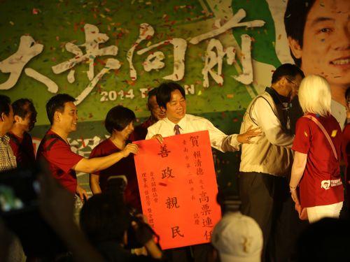 台湾・台南市長選、民進党ホープの現職候補が再選へ