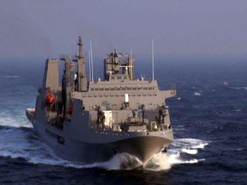海軍司令部提供