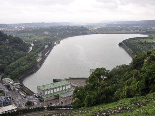 桃園市内の石門ダム