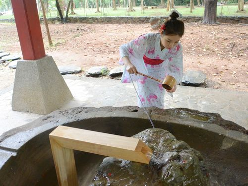 日本統治時代の嘉義神社、約半世紀ぶりに手水舎が復活/台湾