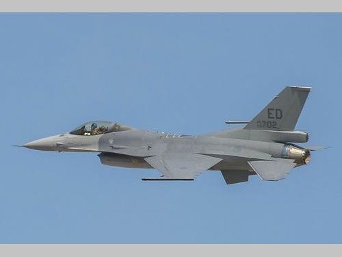 初の飛行試験に成功したF16V=ロッキード・マーチン提供
