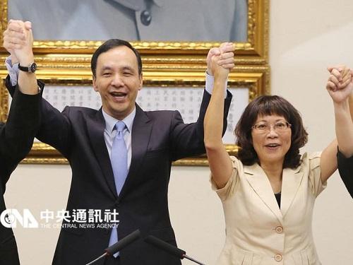 与党・国民党、副総統候補に王如玄氏  女性の権利拡大などに尽力