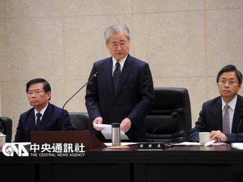 毛治国内閣が総辞職表明/台湾