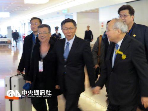 柯文哲市長(左3)