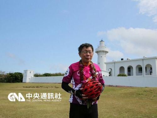 自転車「1日520キロ走破」に挑戦の台北市長、28時間半で完走/台湾