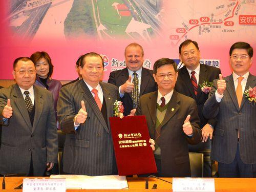 台湾・新北市南部のライトレール、工事落札者と契約  開通に前進