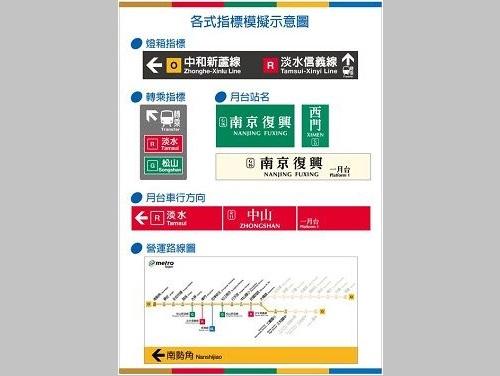 台北メトロ、来年8月前に駅ナンバリング導入へ  誰でも使いやすく/台湾