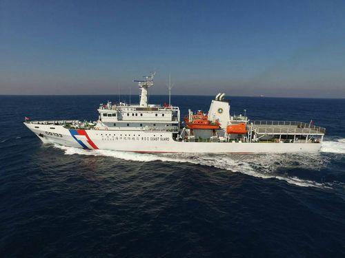 台東艦=東部機動海巡隊提供
