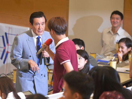 馬前総統、「中華民国の首都は台北」  学生への回答で明言/台湾