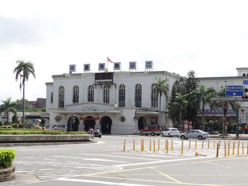 台湾鉄路台南駅=台湾鉄路管理局提供