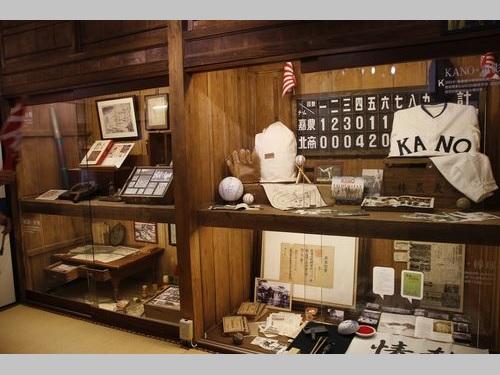 映画「KANO」のモデル  嘉義農林学校ゆかりの資料、鞍替えで再展示/台湾