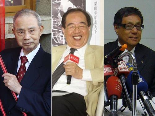 左から呉阿明氏、羅福全氏、董烱熙氏
