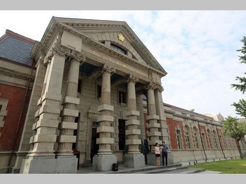 築百年の旧台南地裁庁舎、修復終え公開へ  日本統治時代に建造/台湾