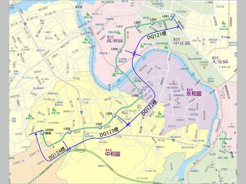 台北市政府捷運工程局提供