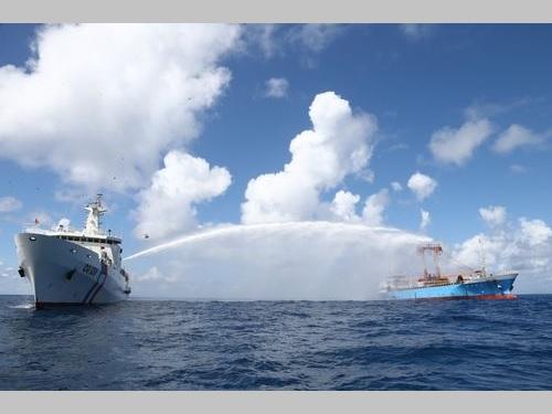 <南シナ海>海軍と海巡署が合同訓練  人道的な救助を想定/台湾