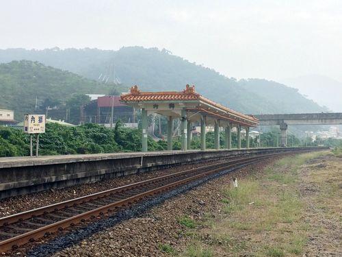 台湾鉄道の内獅駅