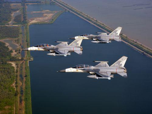 台湾の主力戦闘機IDF=軍聞社提供