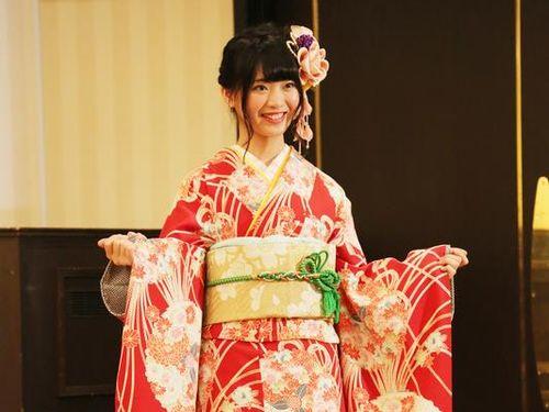 台湾出身のマチャリン、振り袖姿を初披露 AKB48グループ成人式