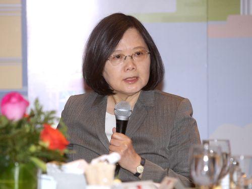 蔡総統、「我々は小国ではない」 交渉カード化への懸念払拭/台湾
