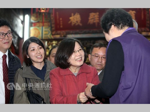 蔡英文総統、ツイッターに日本語で旧正月の挨拶/台湾