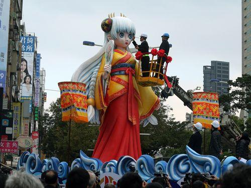 台北ランタンフェス、今年は西門町で  元宵節にはパレード開催/台湾
