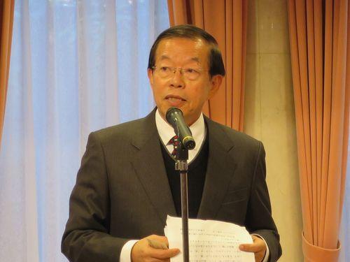 <釣魚台>謝駐日代表、蔡政権批判の国民党に反論 「事実確認を」